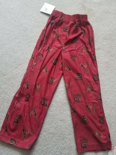 arizona diamondbacks pajama pants youth medium nwt