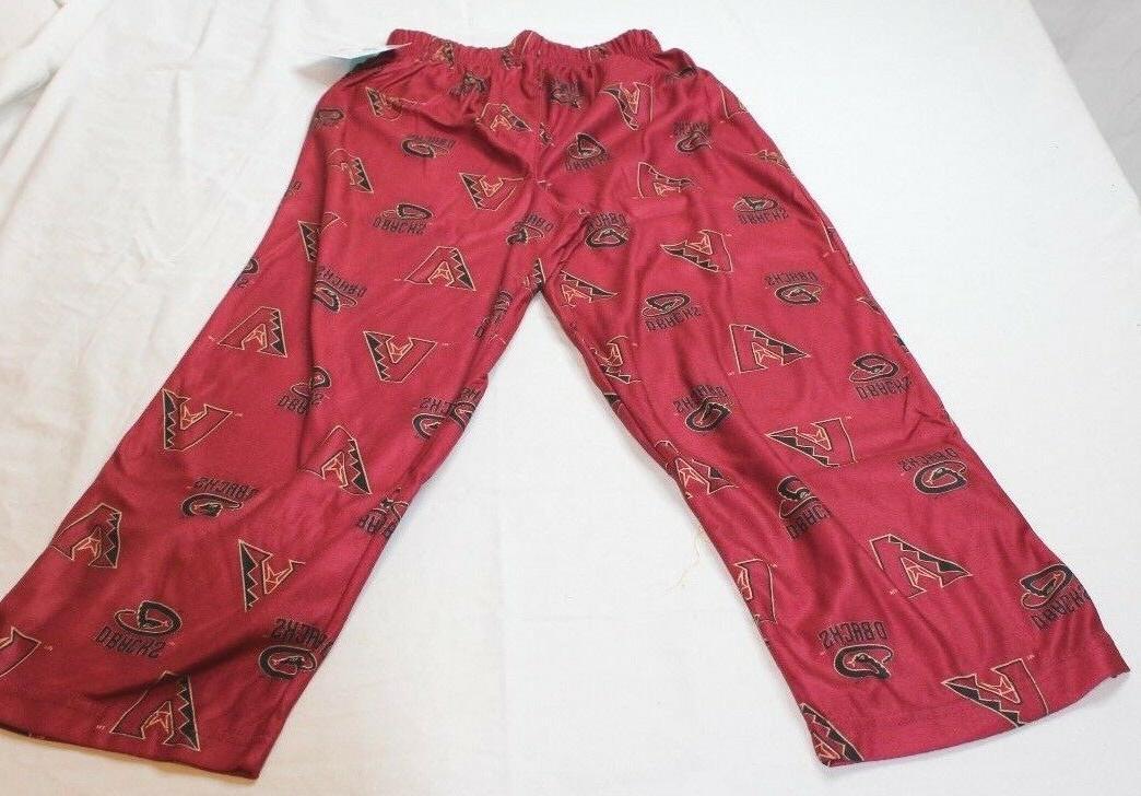 arizona diamondbacks pajama print pants mlb youth