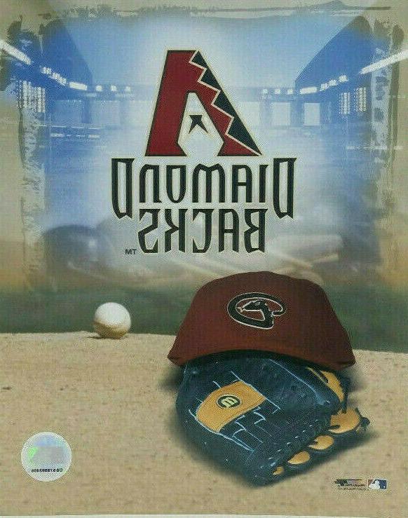 arizona diamondbacks photo cap glove logo mlb