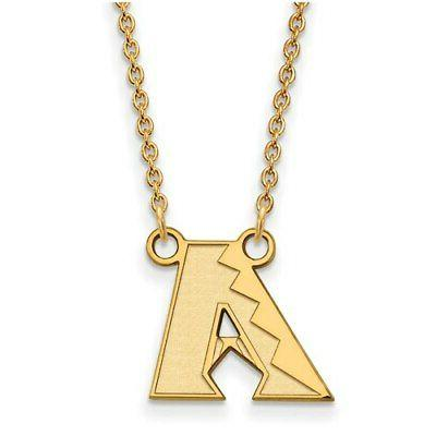 arizona diamondbacks women s gold plated small