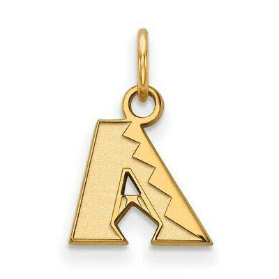 arizona diamondbacks women s gold plated sterling