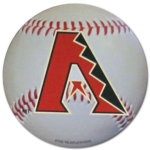 b3rm155 arizona diamondbacks ball magnet
