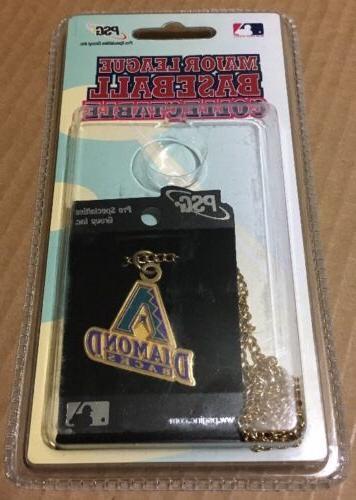 baseball arizona diamondbacks necklace dog tag logo