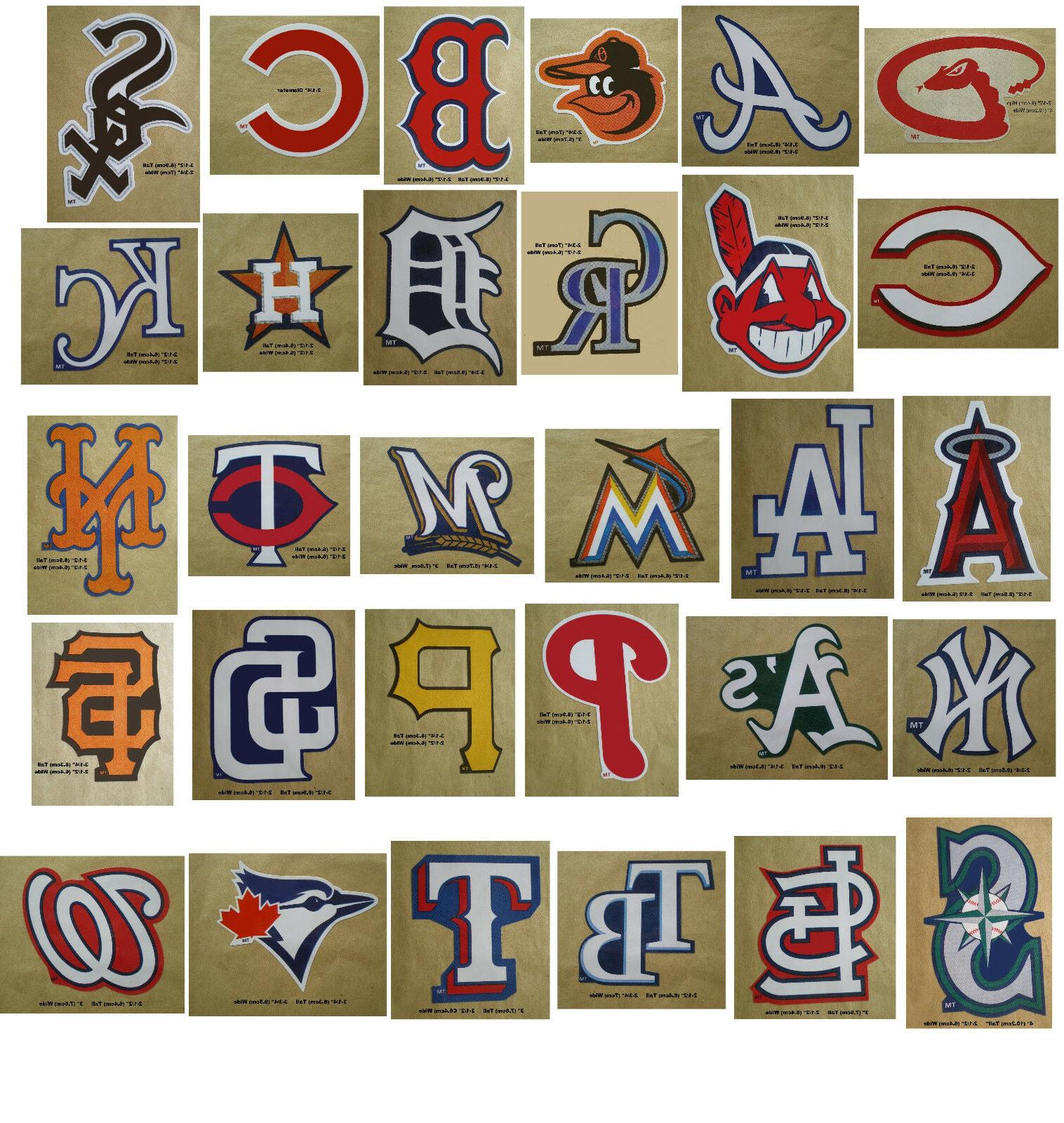 baseball team logo decal stickers mlb licensed