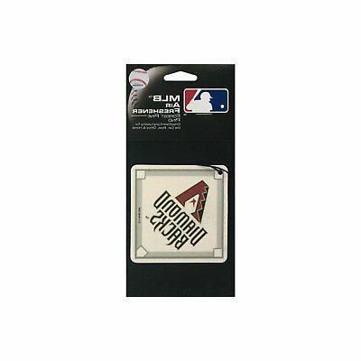 diamond backs air freshener coaster arizona baseball