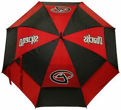 mlb 62 golf umbrella with protective sheath