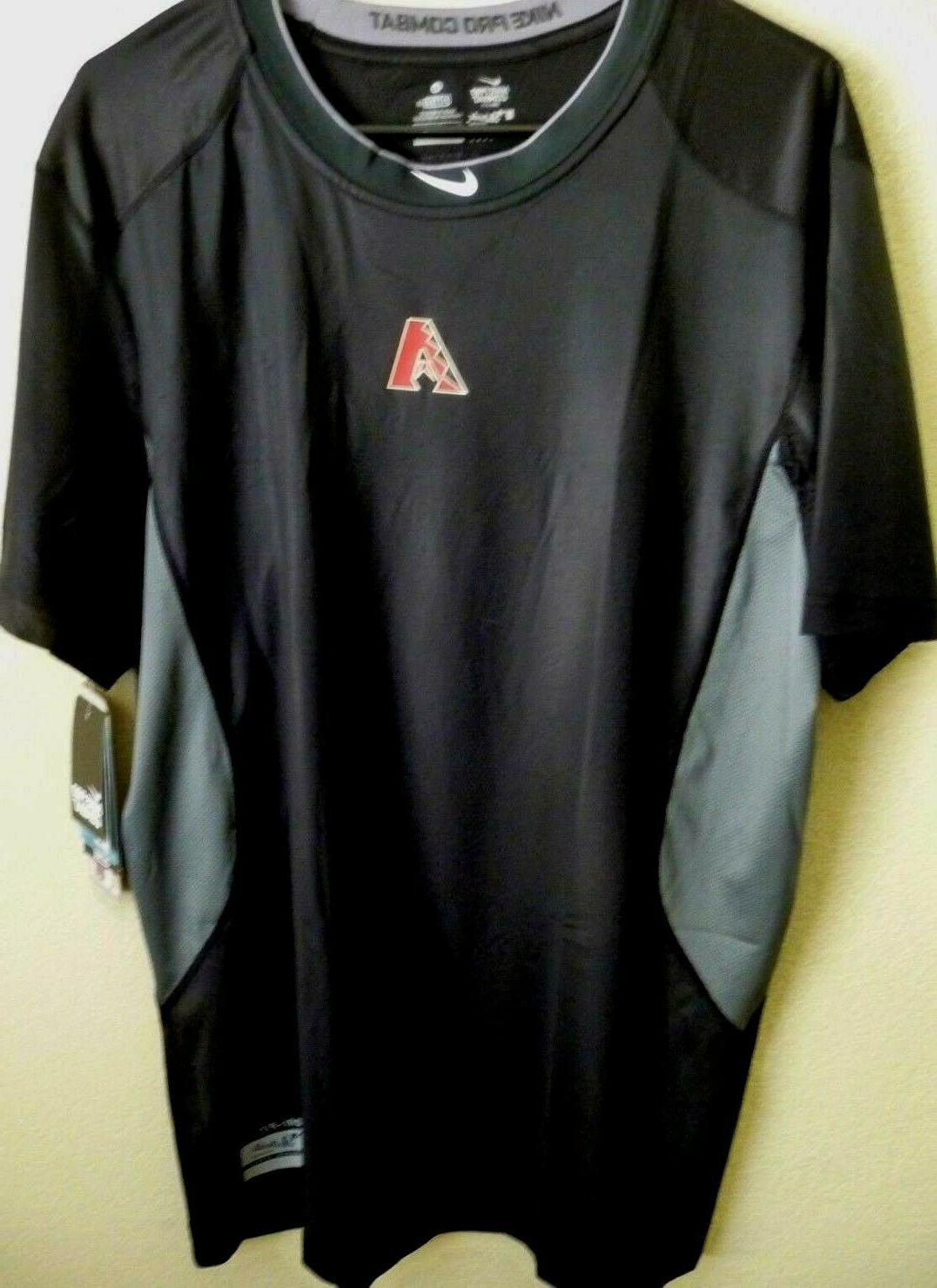 mlb arizona diamondbacks baseball shirt fitted xl