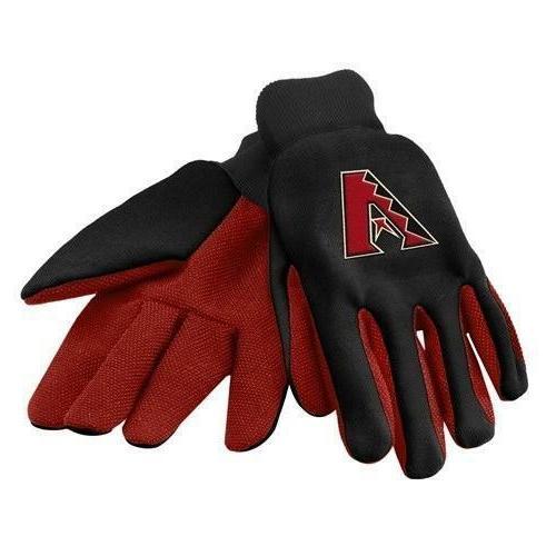 mlb arizona diamondbacks black utility gloves