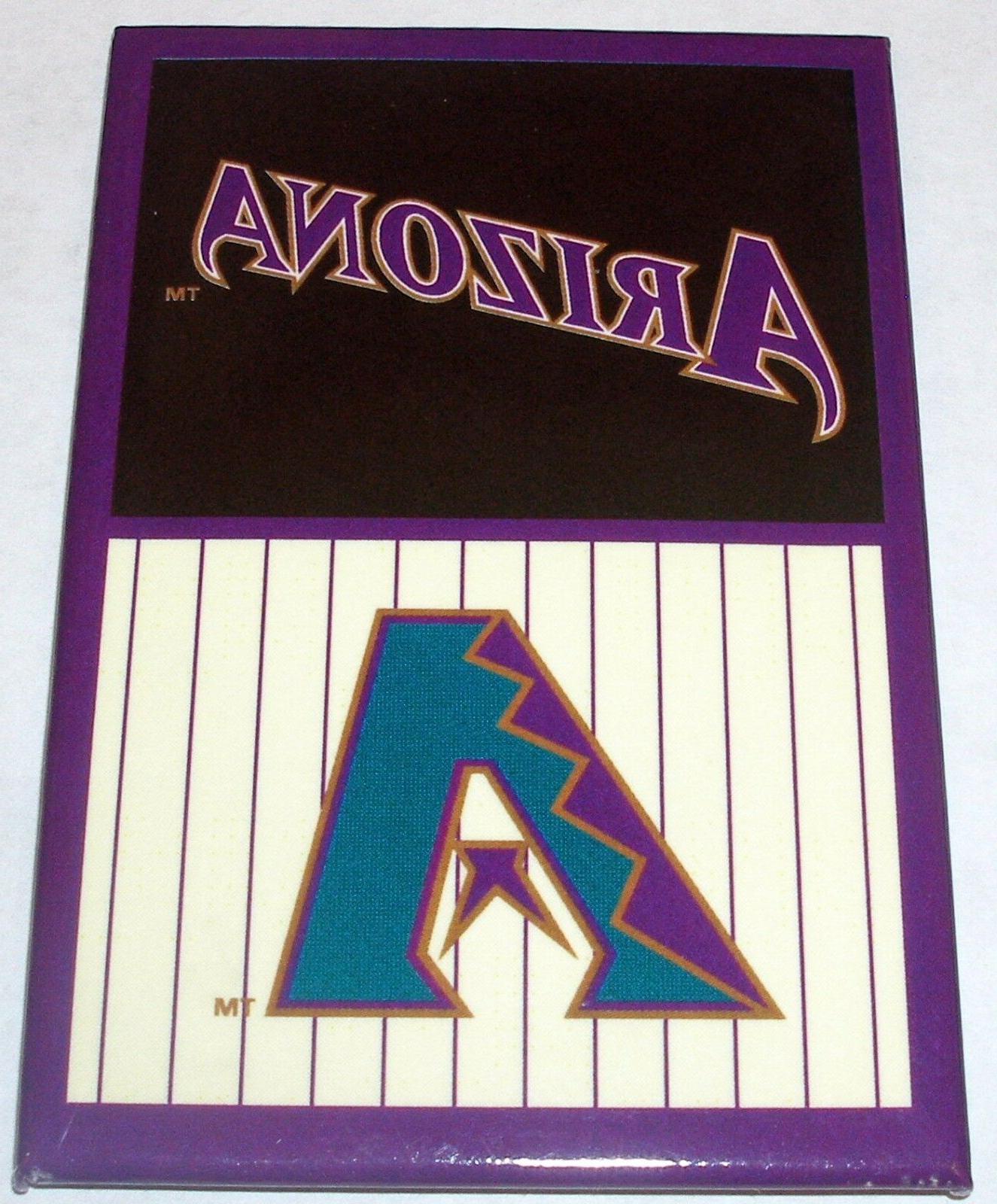 mlb baseball arizona diamondbacks logo fridge magnet