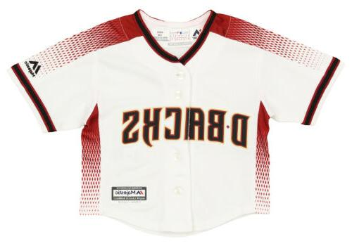 mlb baseball infants arizona diamondbacks home jersey