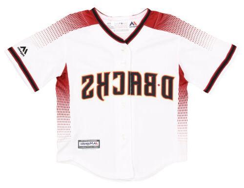 mlb baseball toddlers arizona diamondbacks home jersey