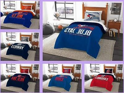 mlb licensed 2 piece twin comforter