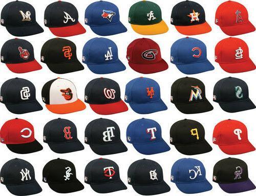 mlb replica adult baseball cap various team