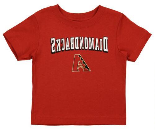 mlb toddler arizona diamondbacks short sleeve fashion