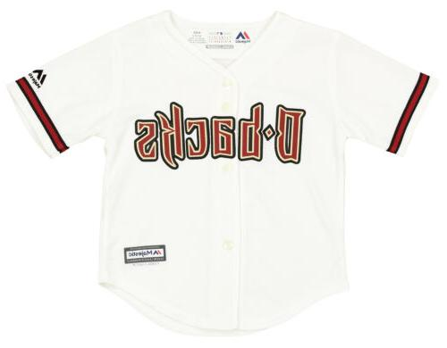 mlb toddlers arizona diamondbacks home jersey team