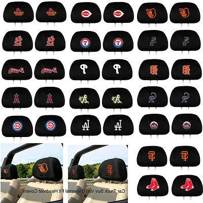 new mlb pick your team head rest