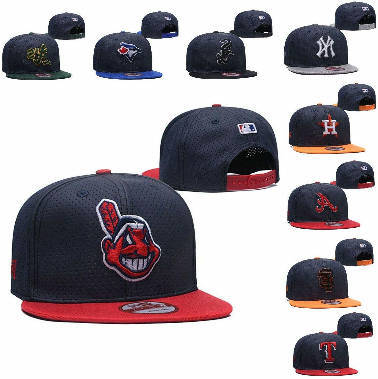 Stylish Embroidered MLB Team Logo Baseball Snapback Adjustable Hat