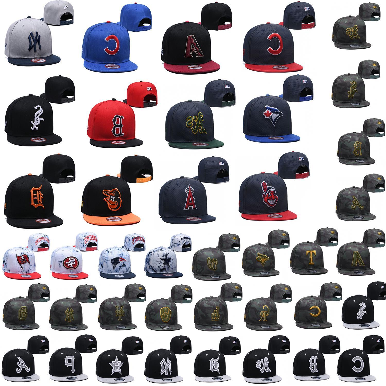 stylish embroidered mlb team logo baseball cap