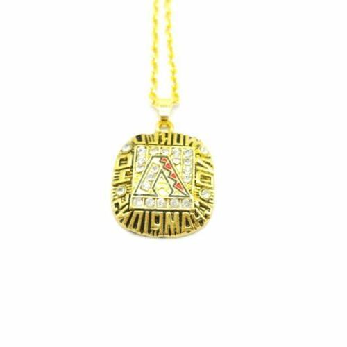 USA Arizona Diamondbacks Pendant Necklace Championship Inspired