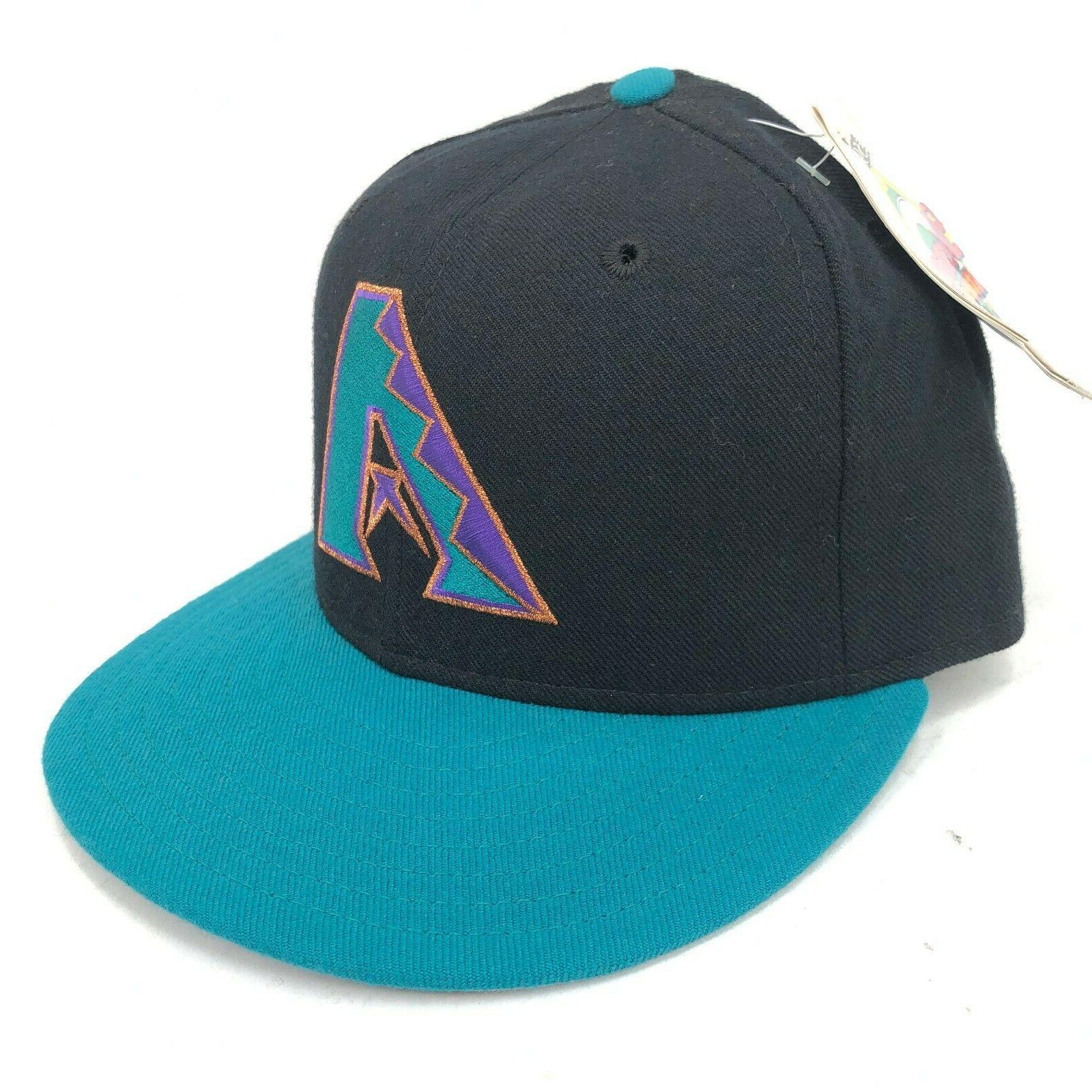 vintage arizona diamondbacks 5950 fitted hat giant