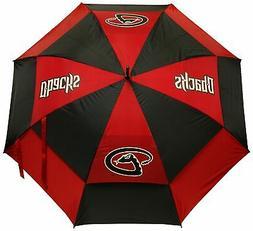 "Team Golf MLB 62"" Golf Umbrella with Protective Sheath, Doub"
