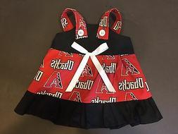MLB Arizona Diamondbacks Baby Infant Toddler Girls Dress * Y