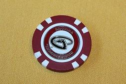 MLB, Arizona Diamondbacks, Baseball, Golf Ball Marker Poker