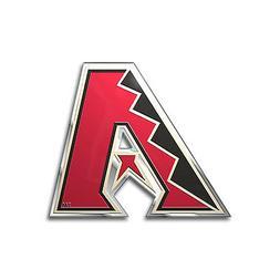MLB Arizona Diamondbacks Car Truck Auto 3-D Aluminum Color E