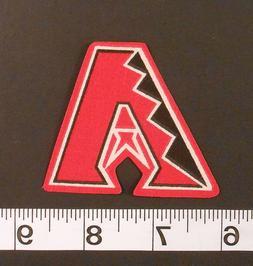 MLB Arizona Diamondbacks Iron On Fabric Applique Patch Logo
