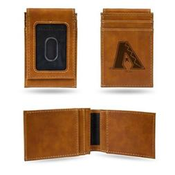 MLB Arizona Diamondbacks Laser Engraved Front Pocket Wallet