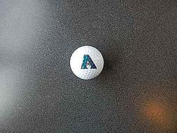 MLB Arizona Diamondbacks Logo Golf Ball EX Unused To New Con
