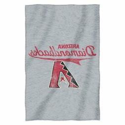 MLB Arizona Diamondbacks Script Sweatshirt Throw, 54-inches