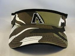 MLB Arizona Diamondbacks Vintage Camo Adjustable Strap Visor