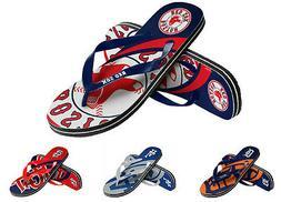 MLB Baseball 2015 Unisex Big Logo Flip Flops - Pick Team