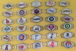 MLB Baseball Charm Bracelet Team Color Choose Your Team Shoe