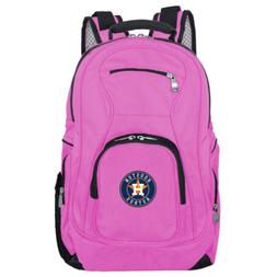 MLB Houston Astros 19 in. Pink Laptop Backpack