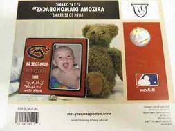 "MLB Licensed Arizona Diamondbacks Born to Be 4"" X 6"" Picture"