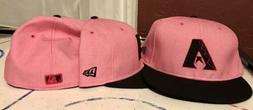New 59Fifty Fitted Pink New Era Arizona Diamondbacks hat