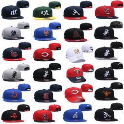 New Embroidered Basketball Hat All Teams Logo Flat Brim Adju