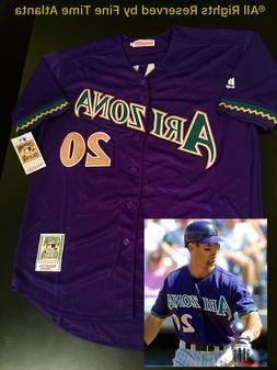 """NEW """"LUGO"""" Luis Gonzalez Arizona Diamondbacks 2001-02 Pu"""