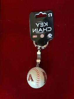 new mlb arizona diamondbacks baseball ball keychain