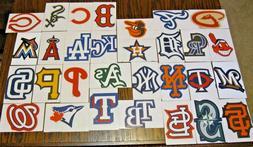 NEW MLB Logo Stickers PICK ANY TEAM! Baseball Decal Peel & S