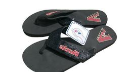 New Women MLB Arizona Diamondbacks Flip Flops Sandals Shoes