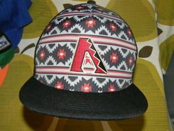 NWT Arizona Diamondbacks Native American Tribal Trucker Hat