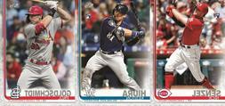 Pre-Sell 2019 Topps Update Series Baseball Cards Base Team S