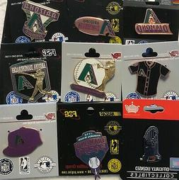 Set of 9 Arizona Diamondbacks Vintage Logo Collector Pins BL