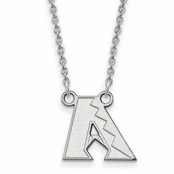 SS MLB  Arizona Diamondbacks Sm Pendant w/Necklace