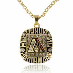 USA Arizona Diamondbacks 2001 Pendant Necklace Championship