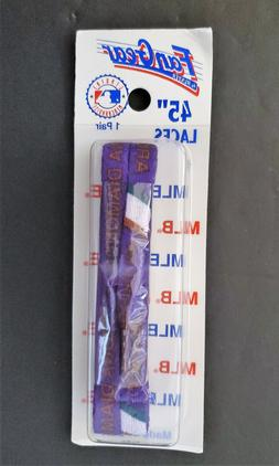 """Vintage Arizona Diamondbacks Fan Gear Shoe Lace Purple 45"""" D"""