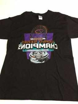 Vtg World Series Champions 2001 Arizona Diamondbacks T Shirt